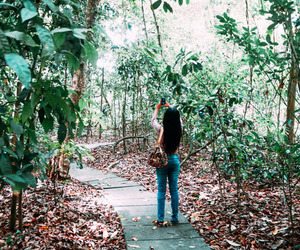 free, girl, and nature image