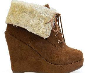 ankle boots, fall, and fur image