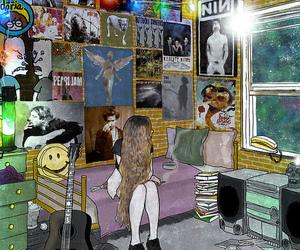 grunge, nirvana, and poster image