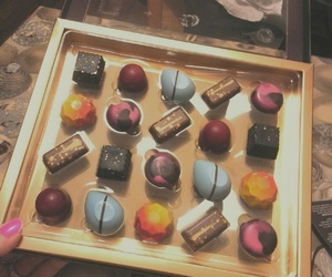 chocolate, sweets, and colorful image