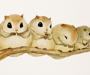 gerbils and by qinni image