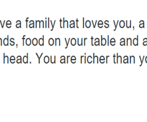 family, food, and quotes image
