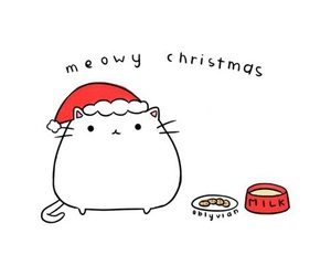 christmas, meow, and tumblr image