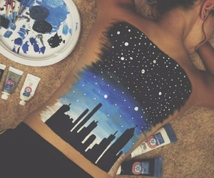art, painting, and city image