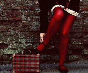 red and tights image