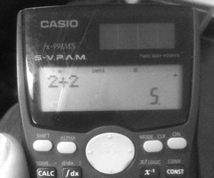 calculator, math, and casio image