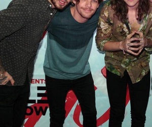 liam payne, louis tomlinson, and Harry Styles image