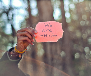 infinite, photography, and text image