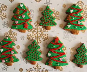christmas, Cookies, and christmas tree image