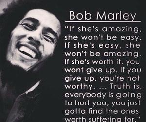 quotes, bob marley, and amazing image