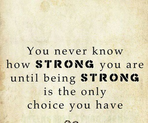quote, quotes, and strong image