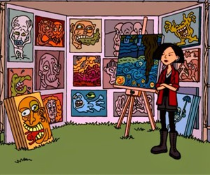 art, Daria, and cartoon image