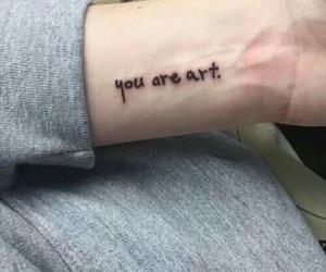 tattoo, art, and grunge image