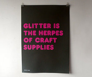 glitter, funny, and crafts image