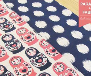 fabric, Matryoshka, and patterns image