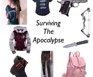 apocalypse, looks, and zombie image