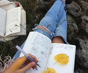 indie, book, and aesthetic image