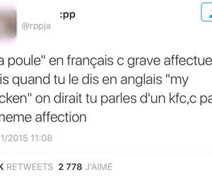 facebook, french, and funny image