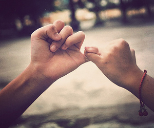 promise, friends, and hands image