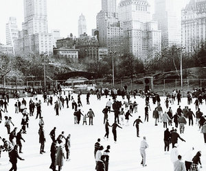 winter, new york, and ice image