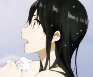 anime, kyokai no kanata, and mitsuki image