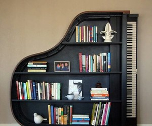 music, one, and piano image
