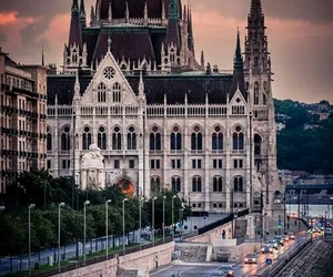beautiful, budapest, and city image