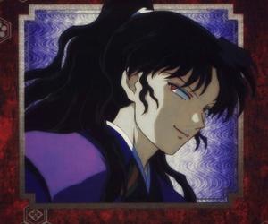 anime, inuyasha, and naraku image