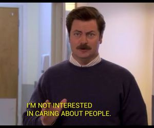 funny, quotes, and ron swanson image