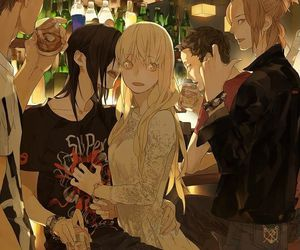 anime, yuri, and manga image