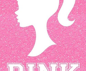 pink, wallpaper, and barbie image