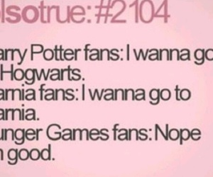 funny, hunger games, and narnia image