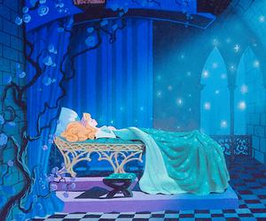 sleeping beauty, disney, and aurora image