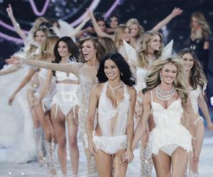 Victoria's Secret, angels, and fashion show image