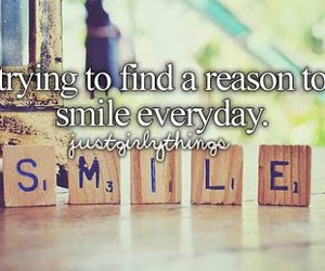 smile, happy, and justgirlythings image