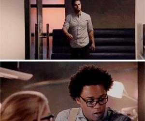 arrow, curtis, and funny image