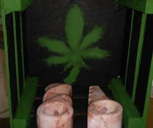 marihuana, verde, and psicodelic image