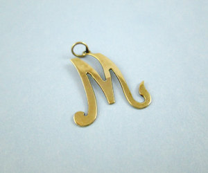 etsy, monogram, and letter m image