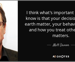 matt damon and quotes image