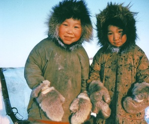 culture, inuit, and winter image