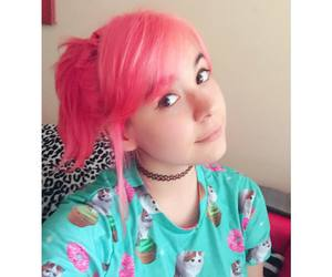 chile, ilonqueen, and pink hair image
