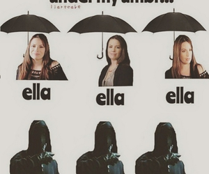 pll, pretty little liars, and umbrella image