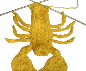 lobster and yellow image