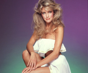 heather locklear and 80's hair image