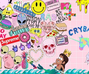 Collage, cry baby, and tumblr image
