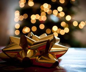 christmas, light, and gift image