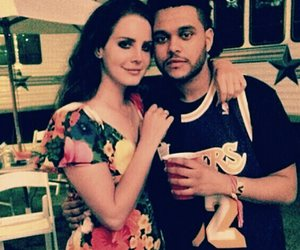 the weeknd and lana del rey image