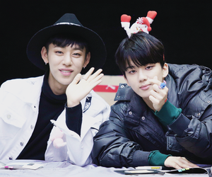 boy, hat, and fansign image