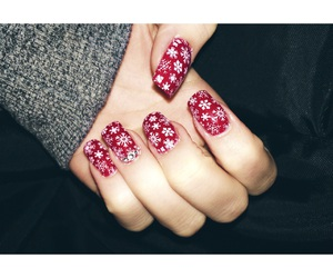 christmas, nail, and x-mas image