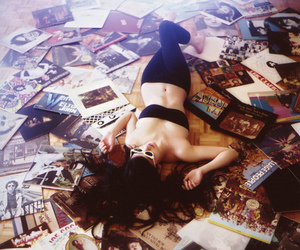 vinyl and music image